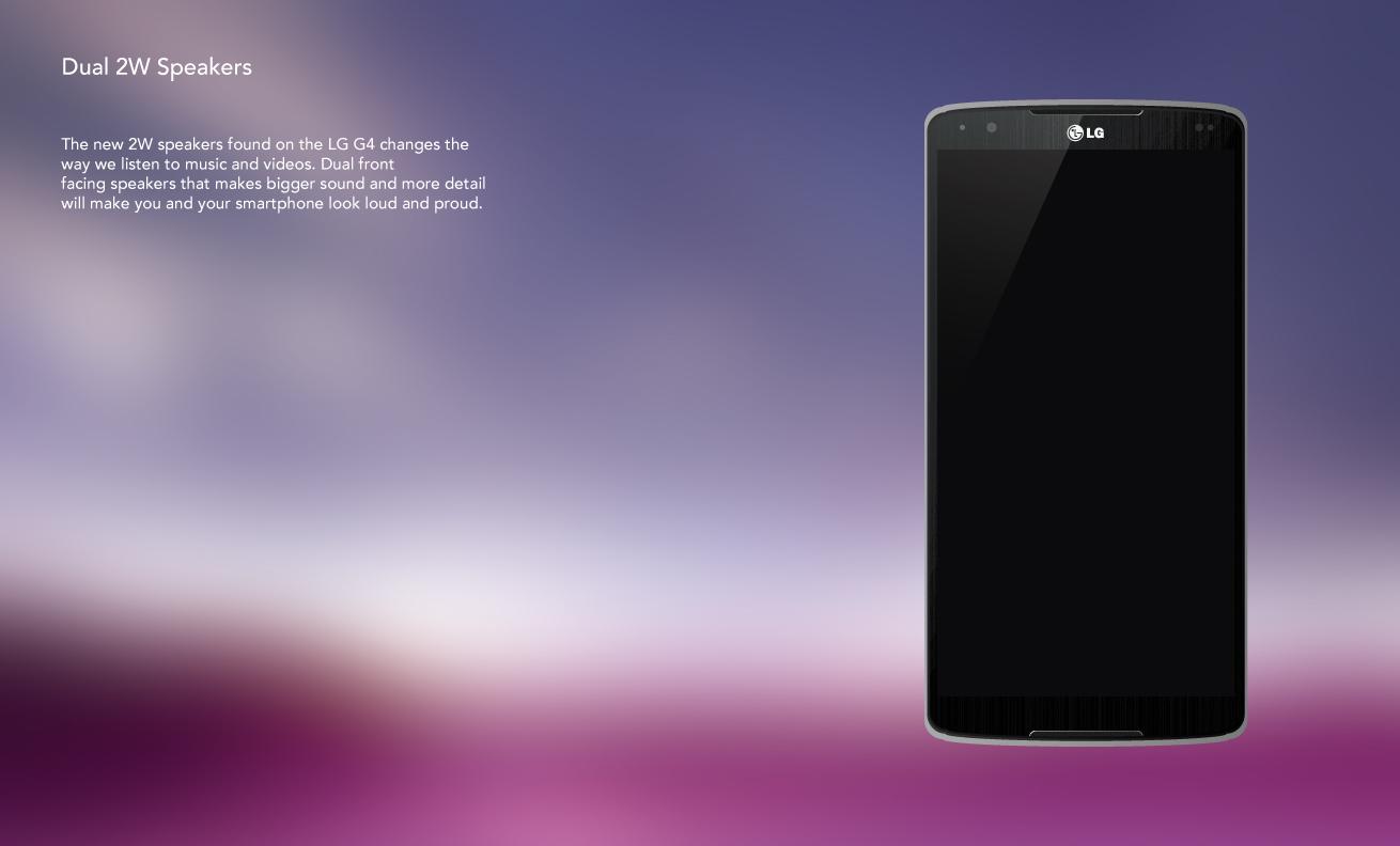 LG G4 thiết kế concept 6