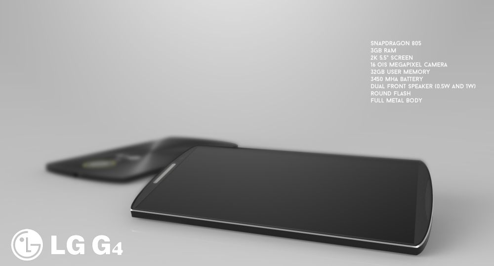 LG G4 thiết kế concept 2