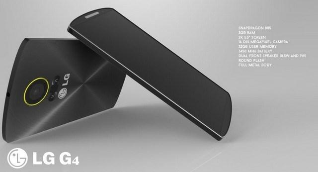 LG G4 thiết kế concept 4