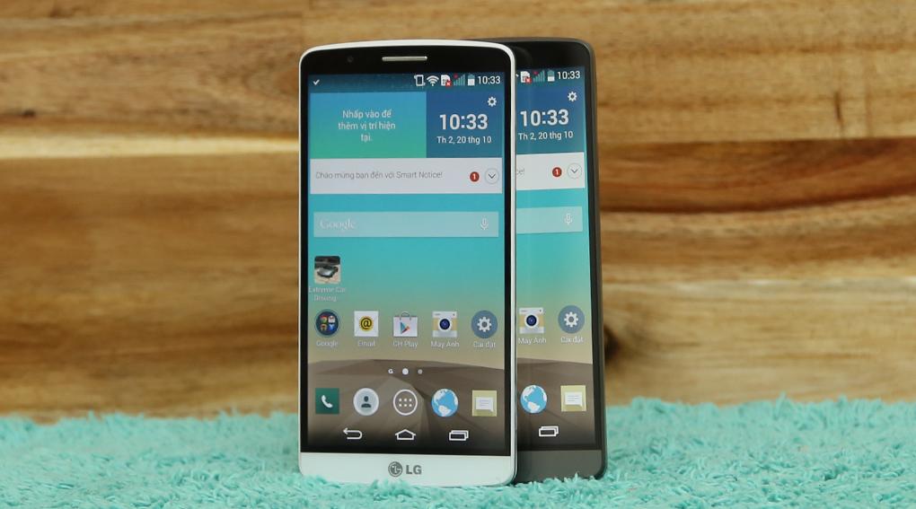 LG G3 sở hữu thiết kế đẹp tinh tế