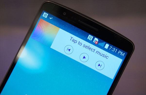 Màn hình trên LG G3 D855