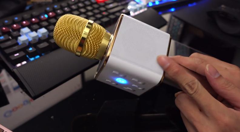 Micro Bluetooth Karaoke Tích Hợp Loa TUXUN Q7 2