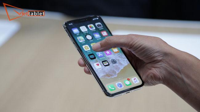 lỗi cảm ứng iphone X