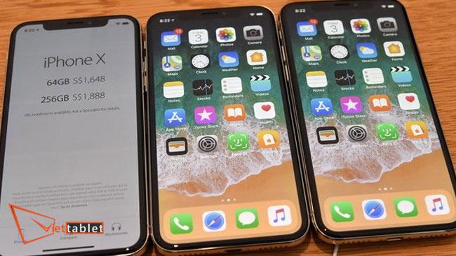lỗi màn hình iPhone X bị sọc