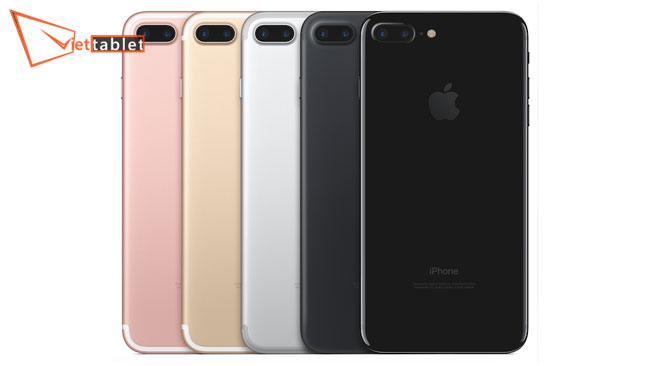 màu sắ iphone 7 chính hãng xách tay