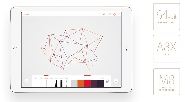 Thông số cấu hình cực mạnh của iPad Air 2 cũ