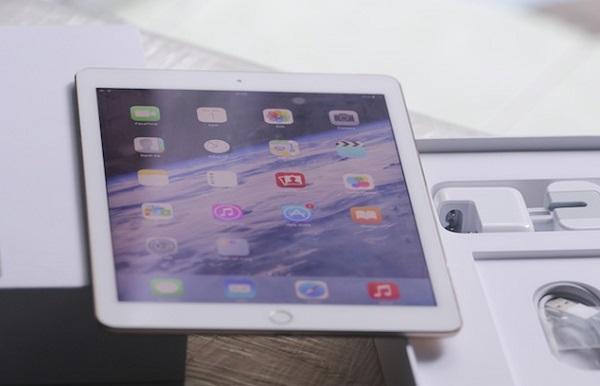 Màn hình iPad Air 2 cũ cho chất lượng hiển thị sắc nét, sống động