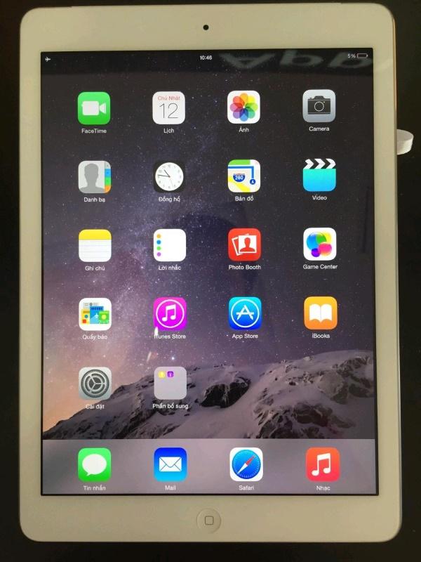 Ảnh thực tế iPad Air Cũ 16GB 4G viettablet 1