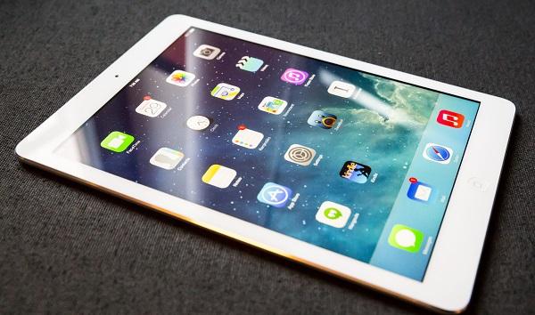 iPad Air cũ sỡ hữu màn hình Retina sắc nét