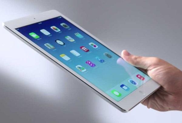 iPad Air cũ có thiết kế mỏng ấn tượng