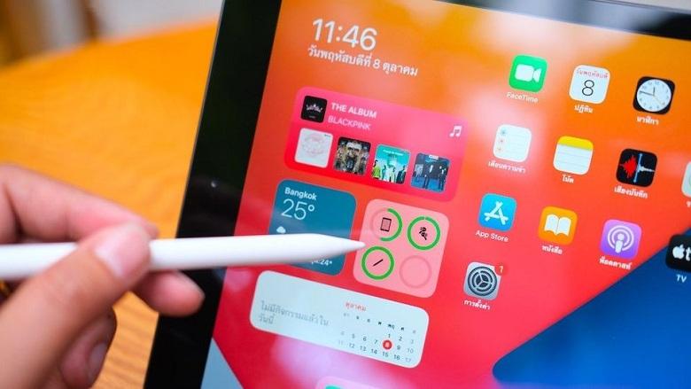 bút cảm ứng của iPad Gen 8 10.2 inch (2020)