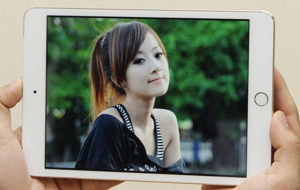 Màn hình trên iPad mini 3 cũ cho hình ảnh đẹp, chân thực