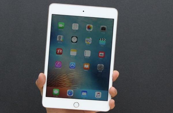 iPad Mini 4 128GB cho chất lượng hiển thị xuất sắc