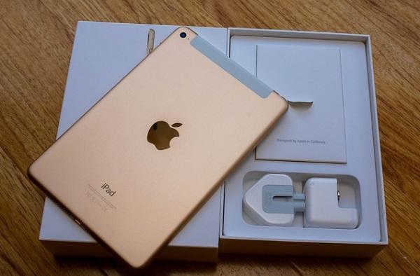 Hộp đựng và phụ kiện của iPad Mini 4 128GB