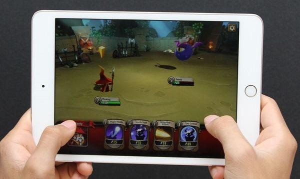iPad Mini 4 64 GB dễ dàng chạy đa nhiệm các ứng dụng với nhau rất là tốt mà không bị giật Lag.