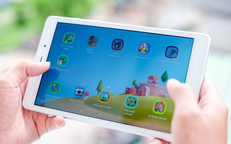 game của Galaxy Tab A8 8 inch T295 (2019)