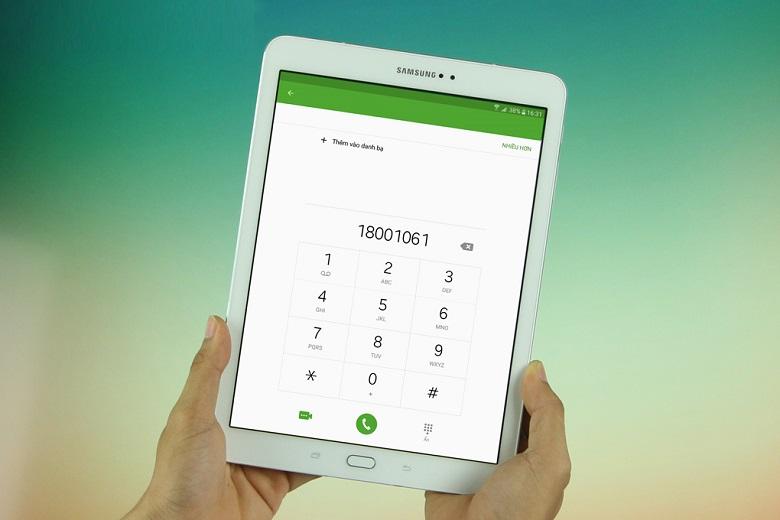 Samsung Galaxy Tab S2 9.7 inch có khả năng đàm thoại tốt