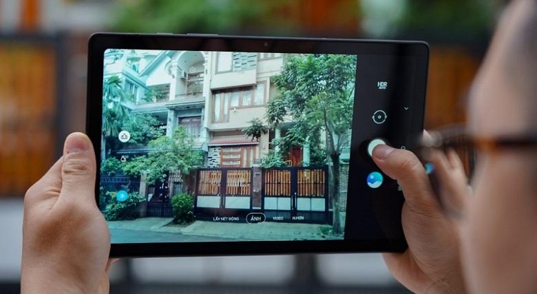 chụp ảnh Samsung Galaxy Tab A7 (2020)