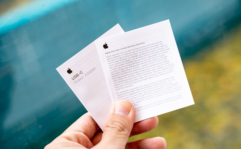 sách hướng dẫn sử dụng của sạc nhanh iPhone 12