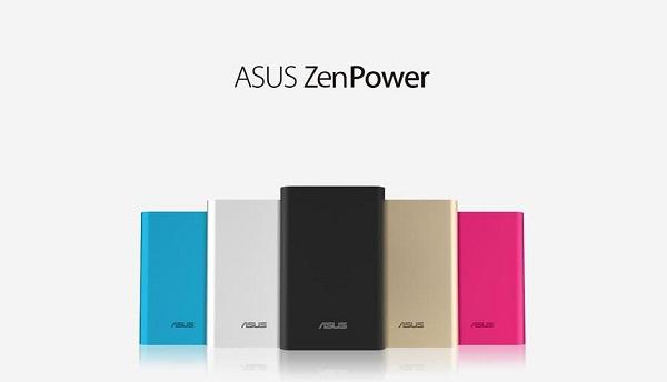 Asus ZenPower có nhiều tùy chọn màu sắc, phù hợp với nhiều đối tượng khách hàng