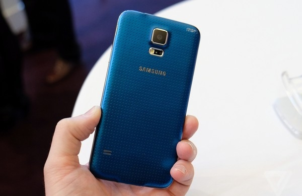 Samsung Galaxy s5 au camera khủng