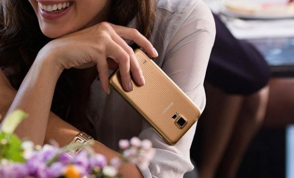 Samsung Galaxy S5 Au thiết kế đẳng cấp