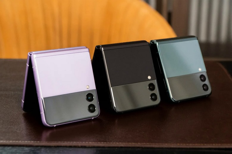 camera Galaxy Z Flip3 5G