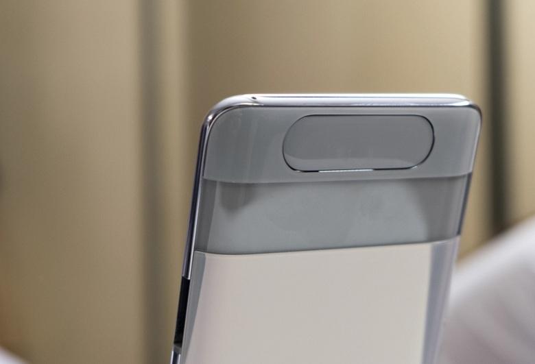 Cụm camera của Samsung Galaxy A80 công ty