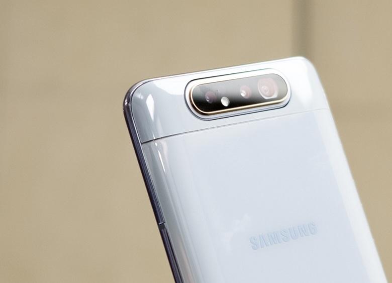 Thiết kế Samsung Galaxy A80 đẹp độc đáo