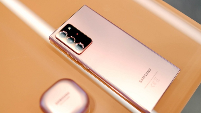 thiết kế Samsung Note 20 Ultra