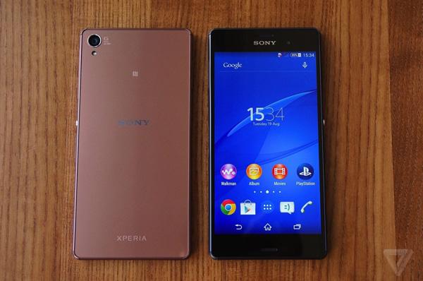 Sony Xperia Z3 2 SIM sở hữu thiêt kế tinh tế, đẹp mắt