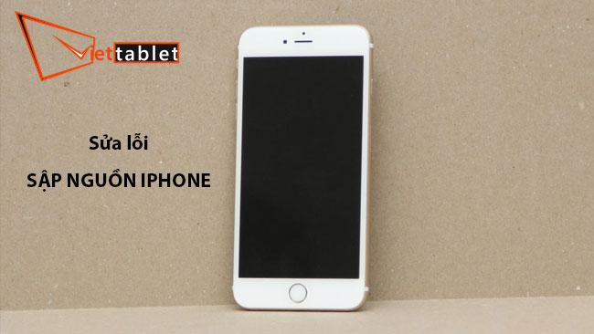 sửa chữa sập nguồn iphone
