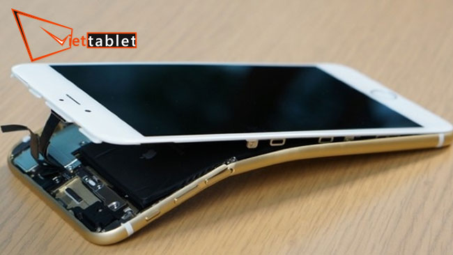 sửa iphone 6s plus bị cong màn hình