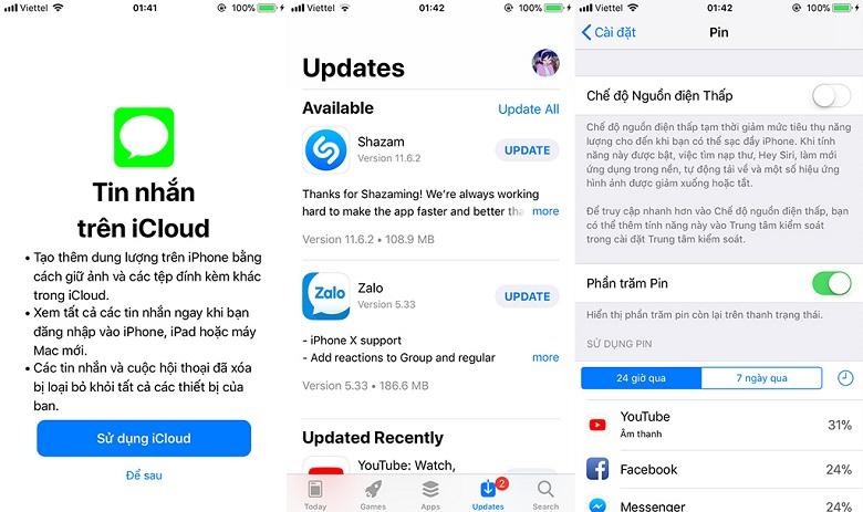 iOS 11.3 ra mắt