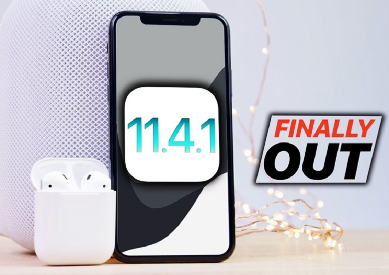 ios 11.4.1 phát hành