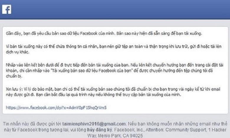 cách phục hồi tin nhắn facebook cách 3