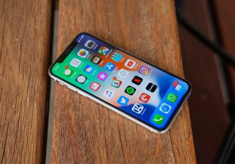 iPhone x smartphone pin trâu