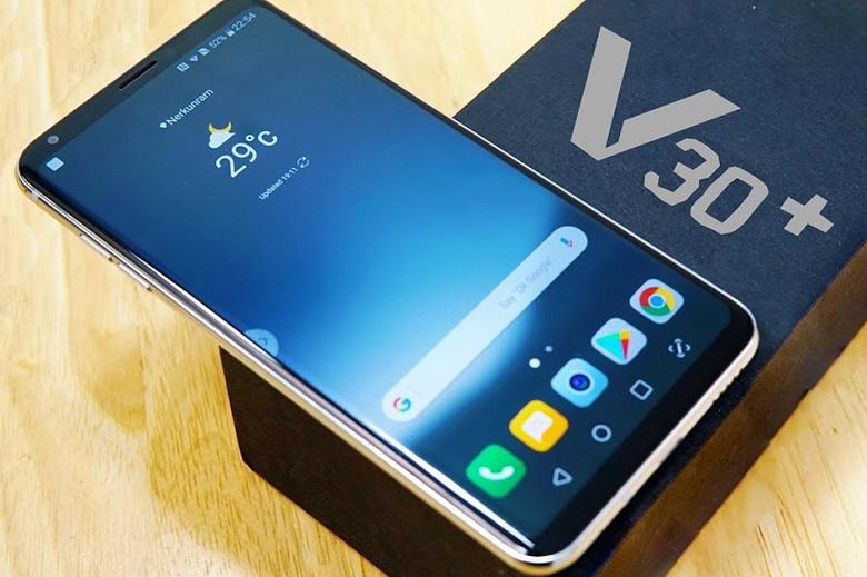 top smartphone pin trâu lg v30 plus