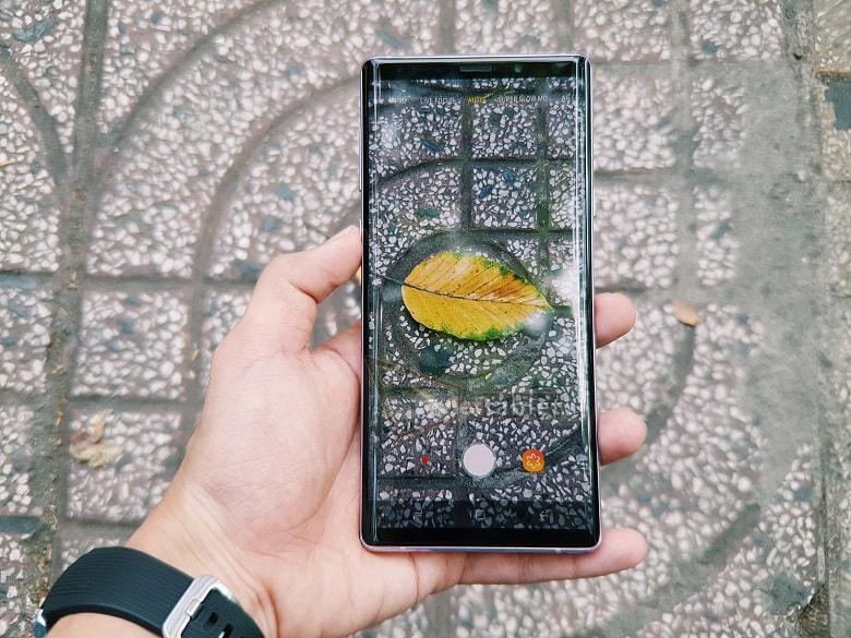 camera Samsung Galaxy Note 9 Mỹ
