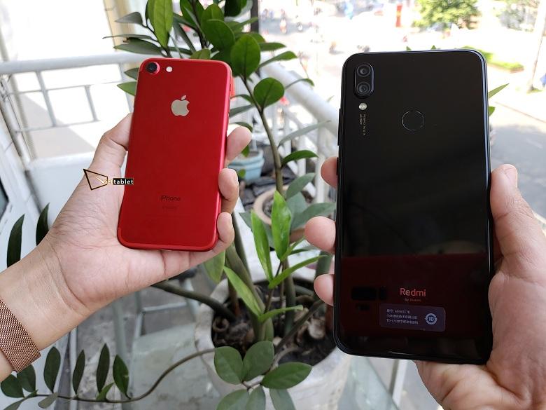 tren-tay-xiaomi-redmi-note-7-voi-iphone-7