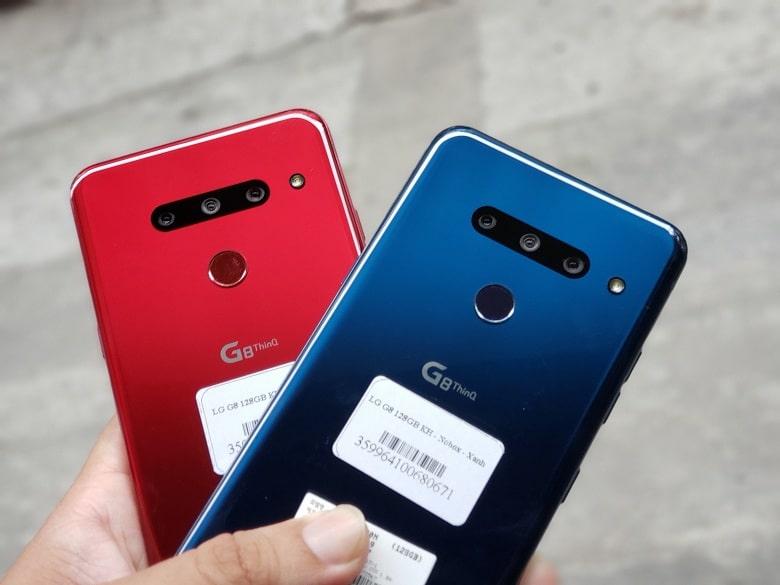 camera của LG G8 ThinQ