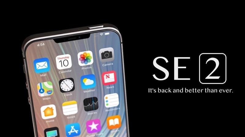 Ảnh dựng của iPhone SE 2