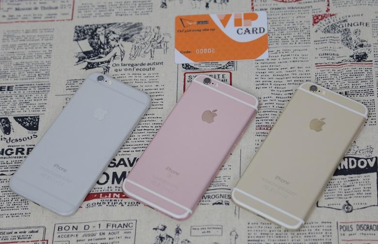 những chiếc iphone 6s cũ tại cửa hàng viettablet