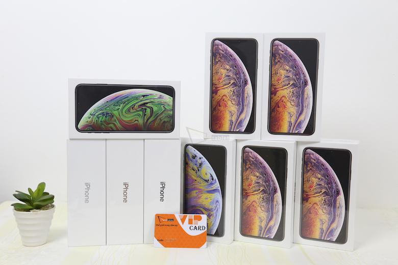 iphone xs max lock tại cửa hàng viettablet