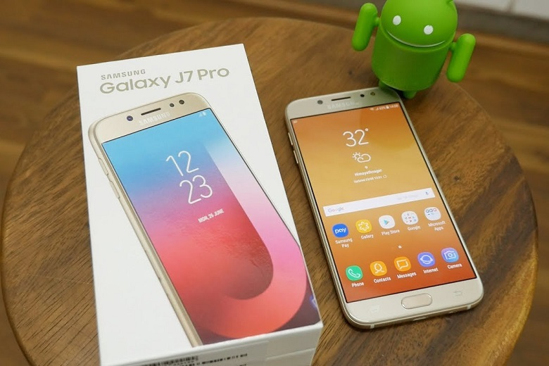 Samsung Galaxy J7 Pro chụp ảnh lấy nét tốt