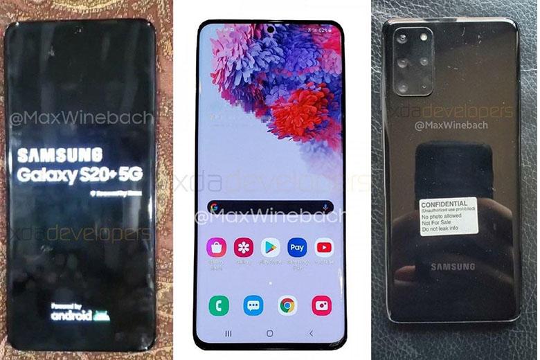 Ảnh thực tế của Samsung Galaxy S20+ 5G