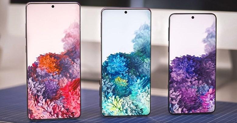màn hình Samsung Galaxy S20