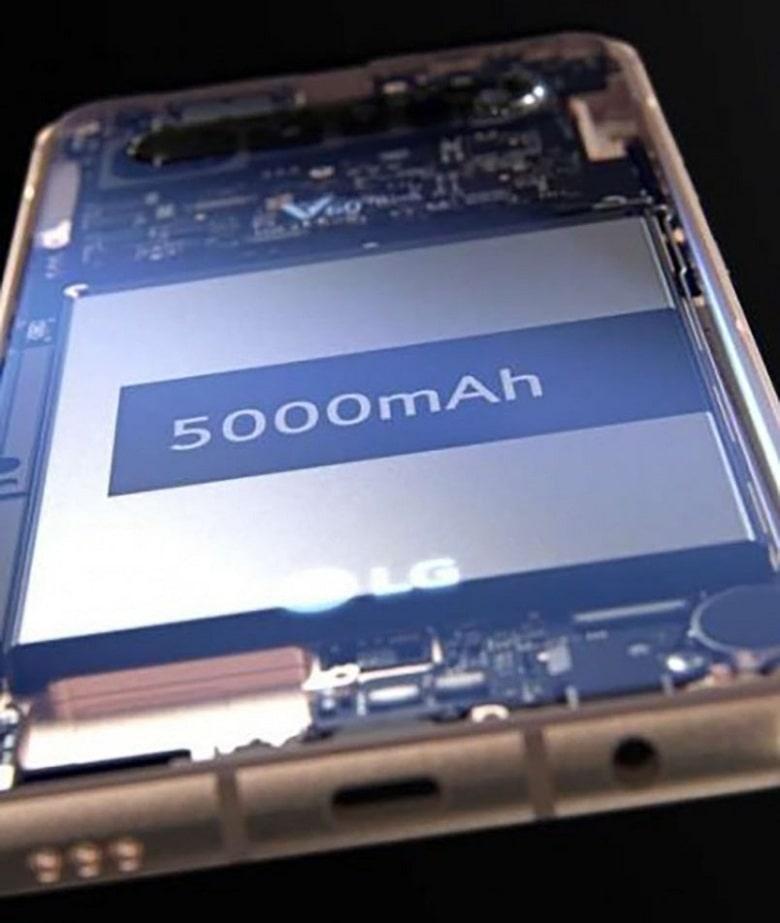 cạnh dưới LG V60 ThinQ 5G