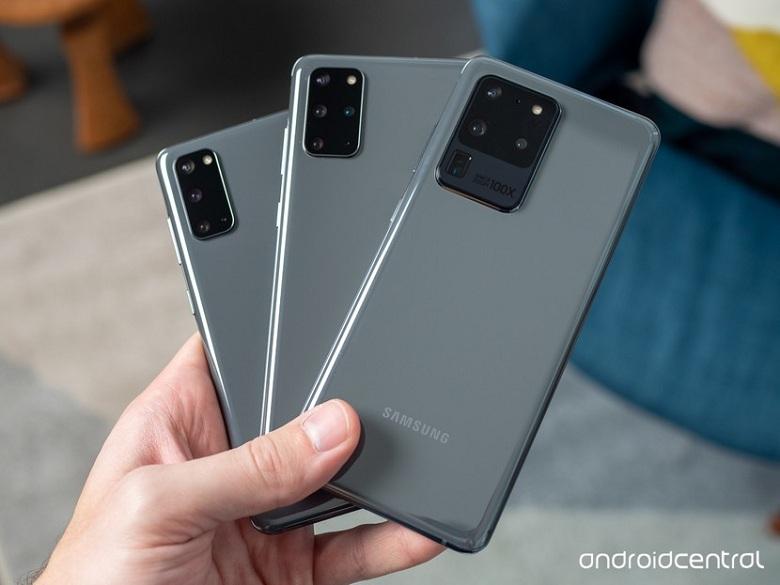 camera Samsung Galaxy S20 Series