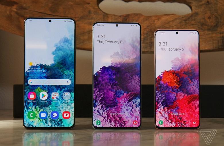 màn hình Samsung Galaxy S20 Series